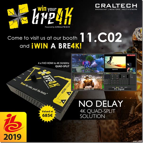 Craltech-bre4K-to-win-TEVIOS