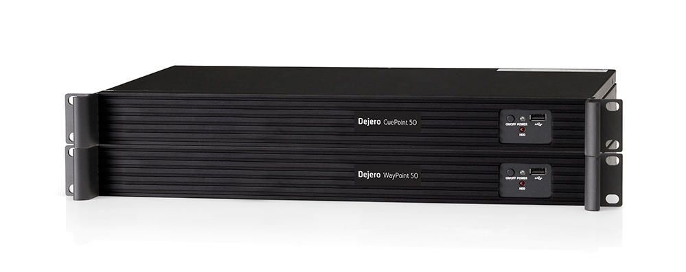 Dejero_WayPoint Cuepoint 50 remote_receiver&returnvideoserver_TEVIOS