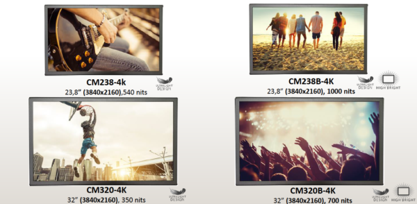 Craltech_4Krange_LCDmonitorswith HDR_TEVIOS