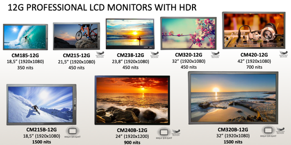 Craltech_12GSeries_LCDHDRMonitors_models_TEVIOS